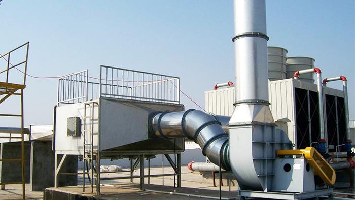 菱翔光电酸碱废气治理工程